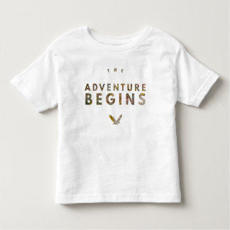 The Adventure Begins Toddler T-Shirt