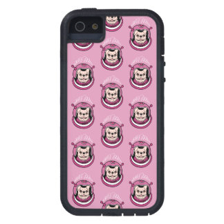 The adventure of a cute Frenchie spaceman iPhone 5 Case