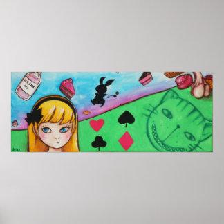 The Adventures of Alice in Wonderland Poster
