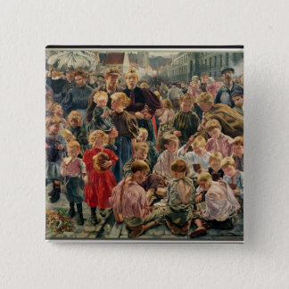 The Ages of the Worker 15 Cm Square Badge