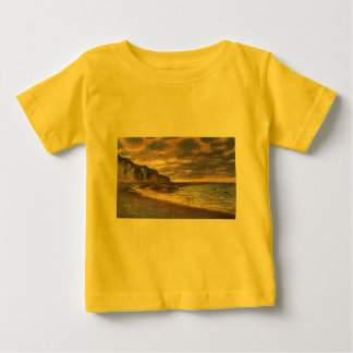 The Ally Point, Low Tide - Claude Monet Baby T-Shirt