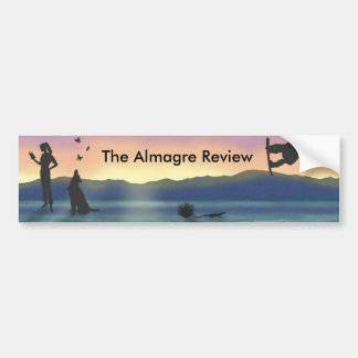 The Almagre Review Bumper Sticker