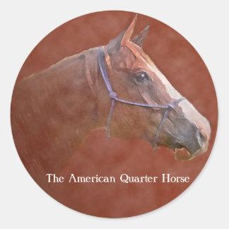 The American Quarter Horse Classic Round Sticker