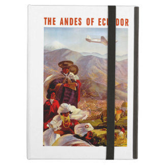 The Andes of Ecuador iPad Air Cover