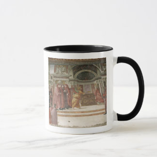 The Angel appearing to St. Zacharias in the Mug