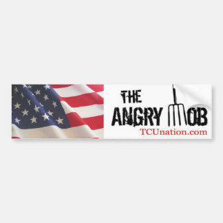 The Angry Mob 1 Bumper Sticker