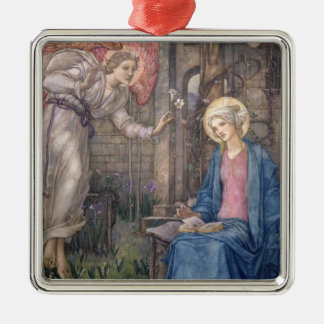 The Annunciation 2 Christmas Ornament