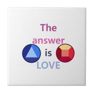 The Answer is Love (v1) Tile