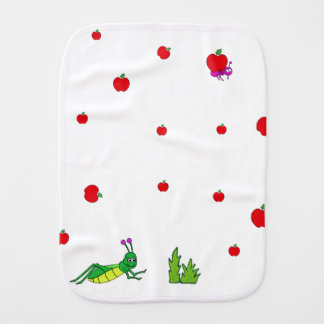 The Ant and the Grasshopper Baby Burp Cloth