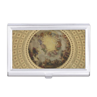 The Apotheosis of Washington Capitol Rotunda Business Card Holder