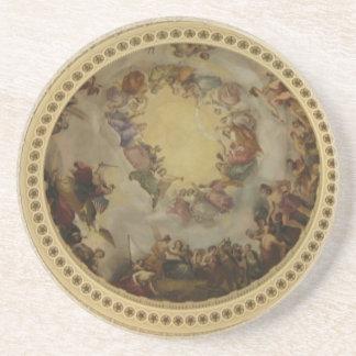 The Apotheosis of Washington  Washington DC Art Coaster