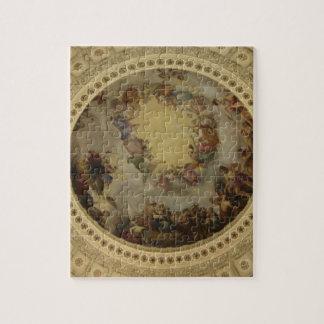 The Apotheosis of Washington  Washington DC Art Jigsaw Puzzle