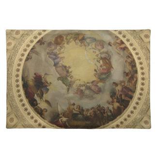 The Apotheosis of Washington  Washington DC Art Placemat