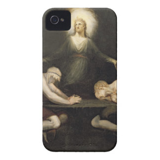 The Appearance of Christ at Emmaus, 1792 (oil on c iPhone 4 Case-Mate Case