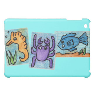 The Aquarium Collage Cover For The iPad Mini