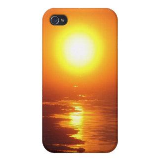 The Arctic Sun iPhone 4 Case