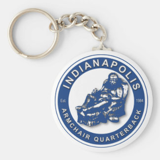 THE ARMCHAIR QB - Indianapolis Key Ring