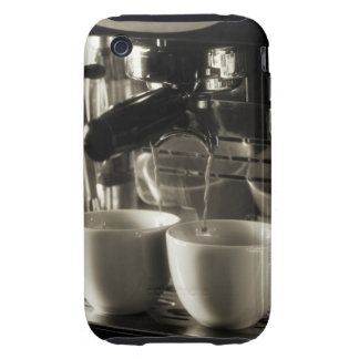 The art of fresh coffee making / pouring tough iPhone 3 covers