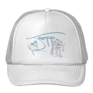 The Art of Jeff Herndon Hat (Blue/White)