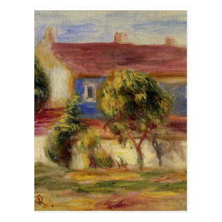 The Artist s House by Pierre-Auguste Renoir Postcard