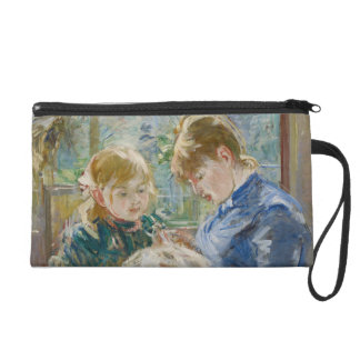The Artist's Daughter, Julie, with her Nanny Wristlet