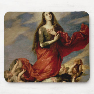 The Assumption of Mary Magdalene, 1636 Mouse Pad