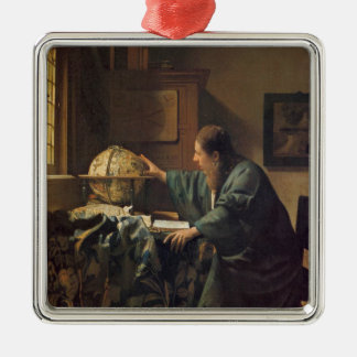 The Astronomer by Johannes Vermeer Christmas Ornament