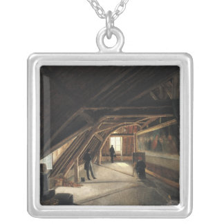 The Attic of a Museum Silver Plated Necklace