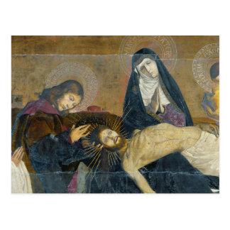 The Avignon Pieta, 1450-60 Postcard