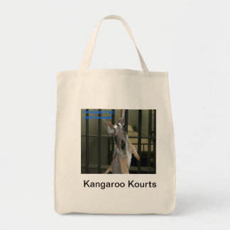The  Baby Kangaroo wants out of Jail Tote Bag