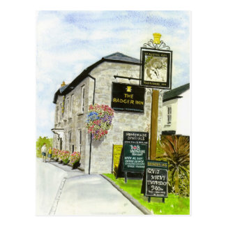 The Badger Inn Postcard