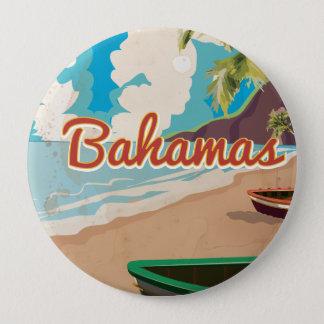 The Bahamas 10 Cm Round Badge
