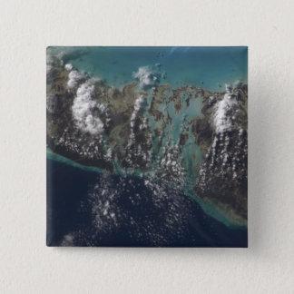 The Bahamas' Andros Island 2 15 Cm Square Badge