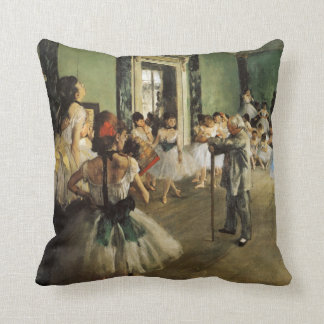 The Ballet Class, 1874 Edgar Degas Cushion