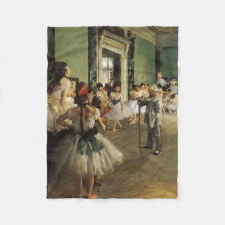 The Ballet Class, 1874 Edgar Degas Fleece Blanket