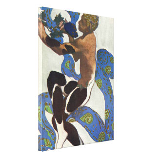 The Ballet Dancer Afternoon of a Fawn Canvas Print