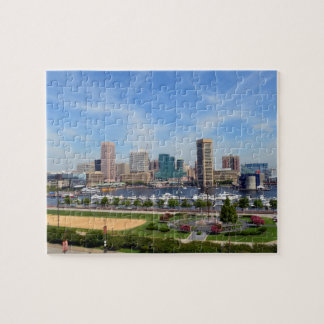 The Baltimore Inner Harbor Jigsaw Puzzle