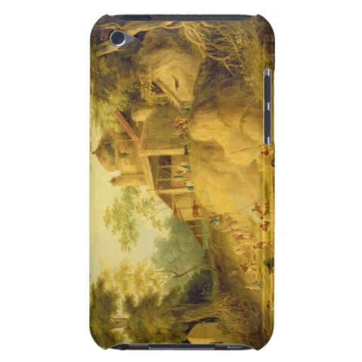 The Banks of the Ganges, c.1820-30 (oil on canvas) iPod Touch Case-Mate Case