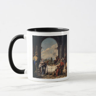 The Banquet of Anthony and Cleopatra, c.1744 (oil Mug