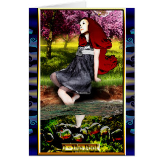 The Banx Tarot Fool Greeting Card