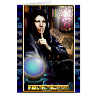 The Banx Tarot High Priestess Greeting Card