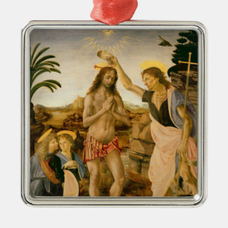 The Baptism of Christ by John the Baptist Christmas Ornament