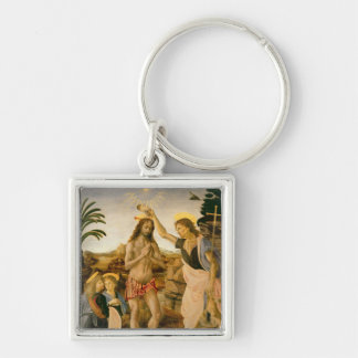 The Baptism of Christ by John the Baptist Keychain