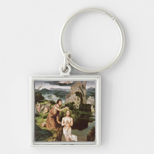 The Baptism of Christ, c.1515 Keychains