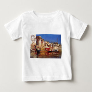 The Barge Of The Maharaja Of Benares by Edwin Lord Baby T-Shirt