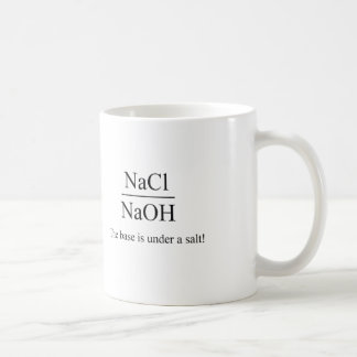 The base is under a salt - Chemistry Mug