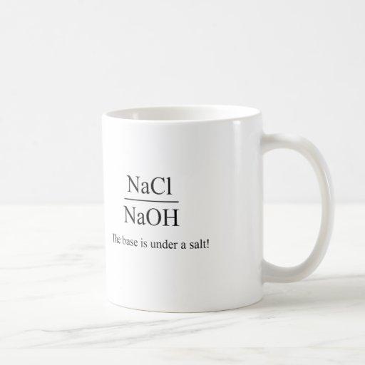 The base is under a salt - Chemistry Mug