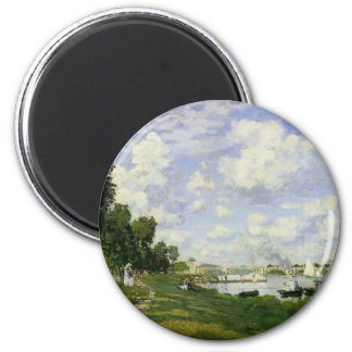 The Basin at Argenteuil - Claude Monet Magnet