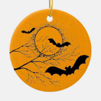 The bat of Halloween - Christmas Ornament