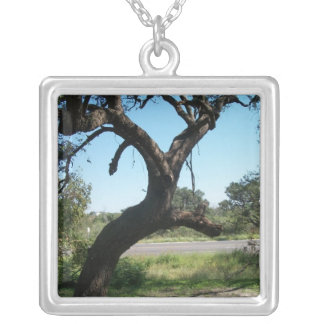 The Bat Tree Necklace